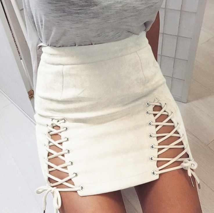 Faldas de autobondage de Summmer, faldas tipo jaula fetiche para chicas, minitrajes de espectáculo sexi picantes elegantes para chicas