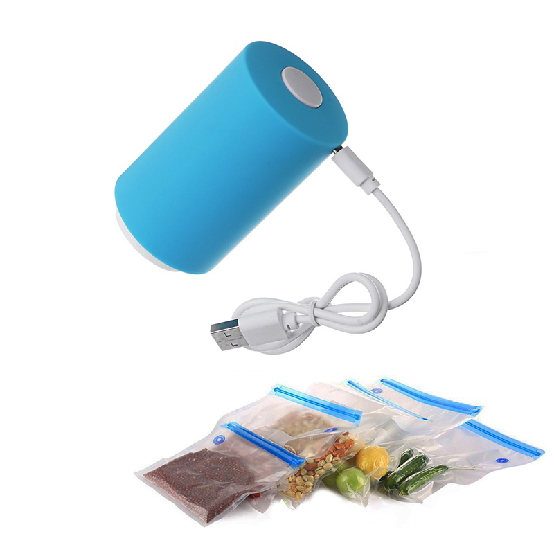 Kitchen-Tool Sealer-Clamp Food-Rod-Strip Vacuum-Pump Compression Snack Fresh Mini Househoud