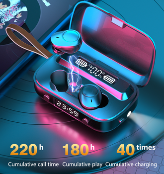 Oringinal Bluetooth наушники TWS гарнитура Беспроводные наушники с сенсорным управлением 9