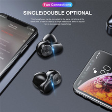 A6 Original TWS Wireless Bluetooth Earphone Stereo bass Bluetooth 5.0 With Mic Handsfree for huawei mate 30 p30 pro mi mix 2s