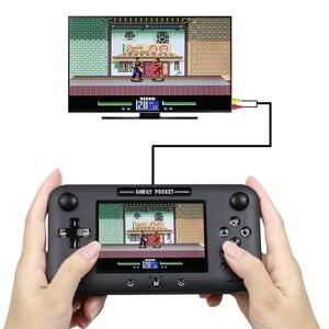 Image 5 - レトロポータブルミニ古典ゲームコンソール8ビット4.0インチカラー子供色ゲームプレーヤー内蔵208ゲーム