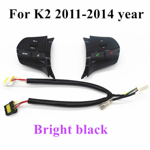 Image 3 - Steering wheel audio volume music control button  for KIA  K2 new RIO K2 switch for Bluetooth telephone sound  back light