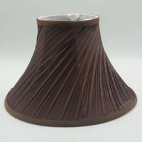 30cm e27 아트 데코 램프 음영 테이블 램프에 대 한 커피 색 호른 전등 갓 현대 스타일 램프 커버 홈 장식에 대 한