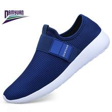 Damyuan 2019 New Fashion Men Sneakers Women Casual Soft Running Shoes for Men Mesh Sport Shoes Zapatos De Hombre Plus 45 46 47