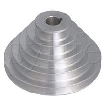 5 שלב סוג V חגורת פגודה גלגלת חגורת Outter Dia 54 150mm (חור Dia 14mm,16mm,18mm,19mm,20mm,22mm,24mm,25mm,28mm)