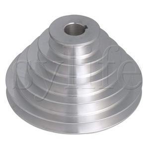 Image 1 - 5 שלב סוג V חגורת פגודה גלגלת חגורת Outter Dia 54 150mm (חור Dia 14mm,16mm,18mm,19mm,20mm,22mm,24mm,25mm,28mm)
