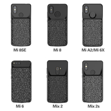 Battery Case For Xiaomi Mi 9 9SE P Battery Charger Case For Mi 8 8SE External Battery Powerbank Case For Mi6 Mix2 Mix2S