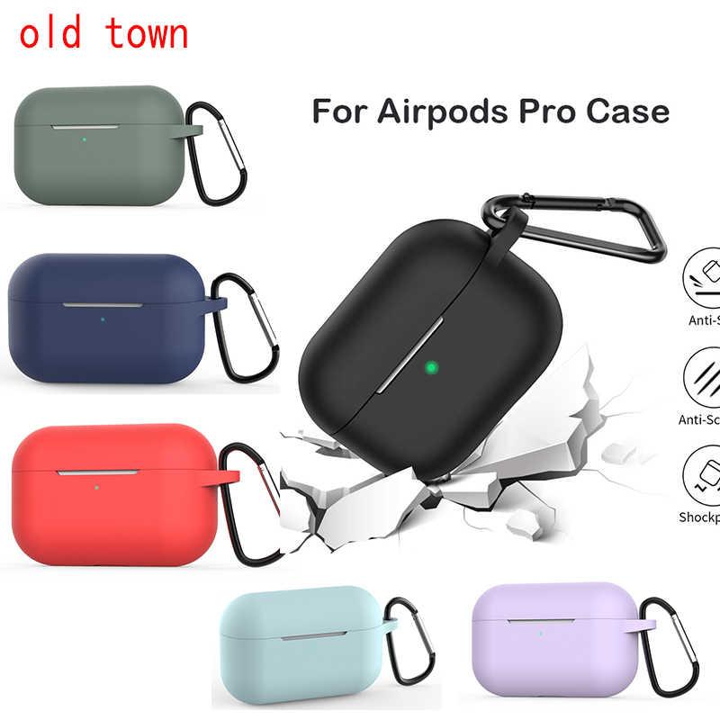 Ốp Lưng Dành Cho AirPods Pro Ốp Lưng Mềm Silixone Tai Nghe Không Dây Bluetooth Ốp Lưng Cho AirPods 3 Ốp Tai Nghe Chụp Tai Accessorie Hộp Nắp