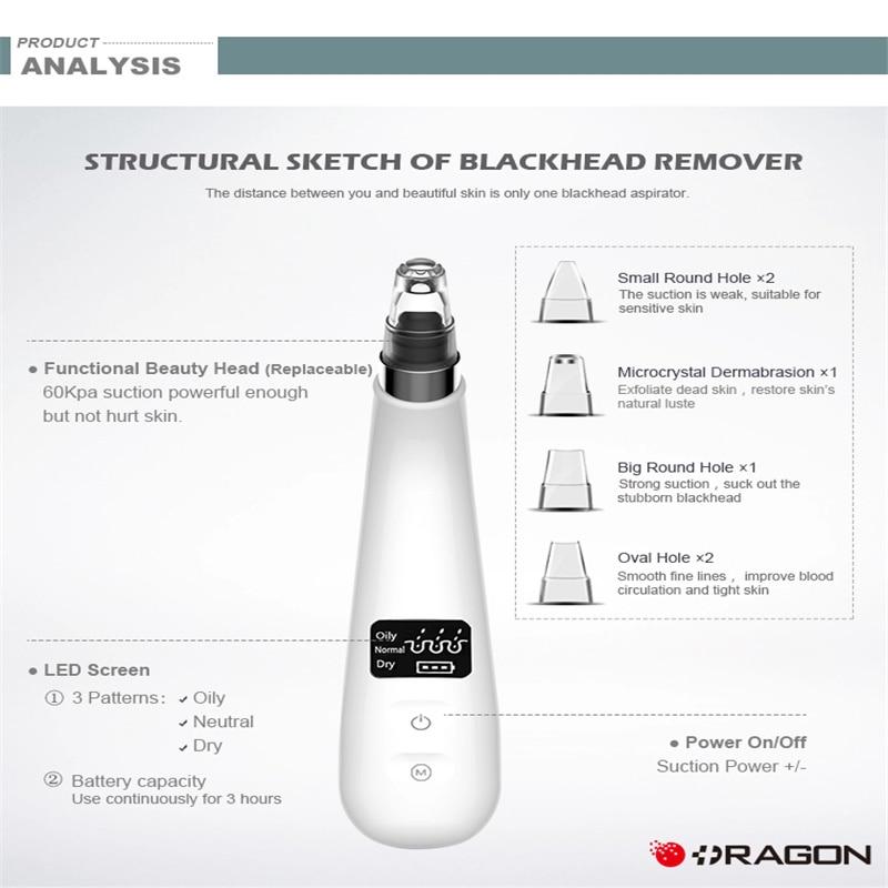 Вакуумное средство для удаления черных точек, средство для очистки пор, косметика для очистки лица, средство для удаления черных точек, инст...