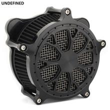 Air Filter CNC Crafts Venturi Cut Air Cleaner Intake For Harley Touring CVO Road King Trike 2008-2016 Dyna FXDLS Softail FLSS 17