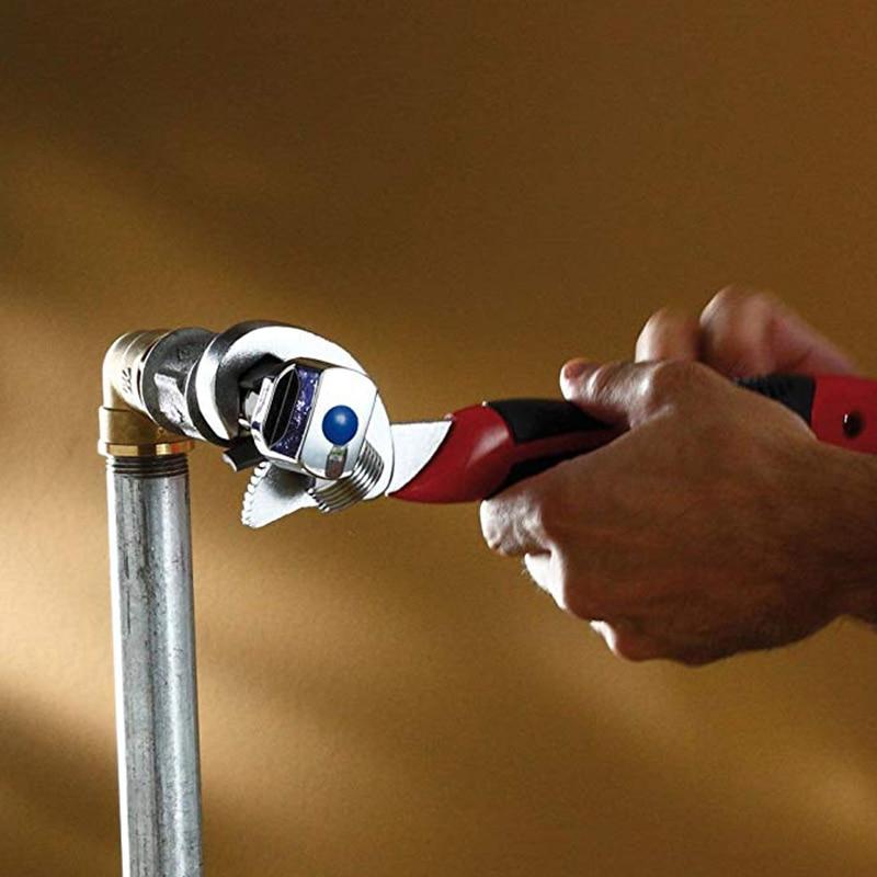 QUK Wrench Set Universal keys 2pcs 9-32mm Multi-Function Adjustable Portable Torque Ratchet Oil Filter Spanner Hand Tools7