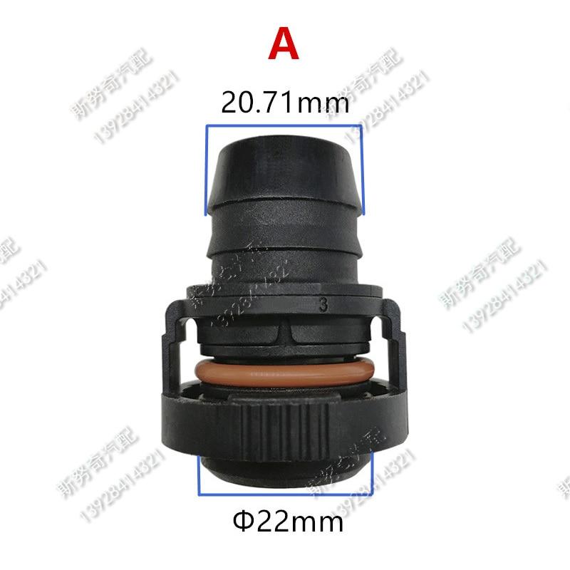 22mm ID18 ID20 raccords de tuyauterie de carburant conduite de - Accessoires intérieurs de voiture - Photo 3