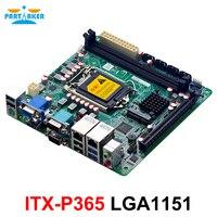 Coffee Lake-Mini placa base Industrial integrada, LAN Dual, 2 DDR4, 4 puertos SATA, PCIE, para Servidor NAS de máquina POS