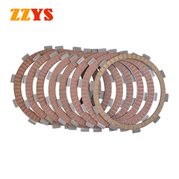 Motorcycle Clutch Friction Plate Kit For HONDA NTV650 Revere / V Deauville XL650 XL650V XL700 Transalp XL 650 700 CTX700 CTX 700 image