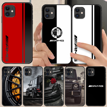 AMG Mercede Benz Sports car Phone Case Cover Hull For iphone 5 5s se 2 6 6s 7 8 11 12 mini plus X XS XR PRO MAX black shell image