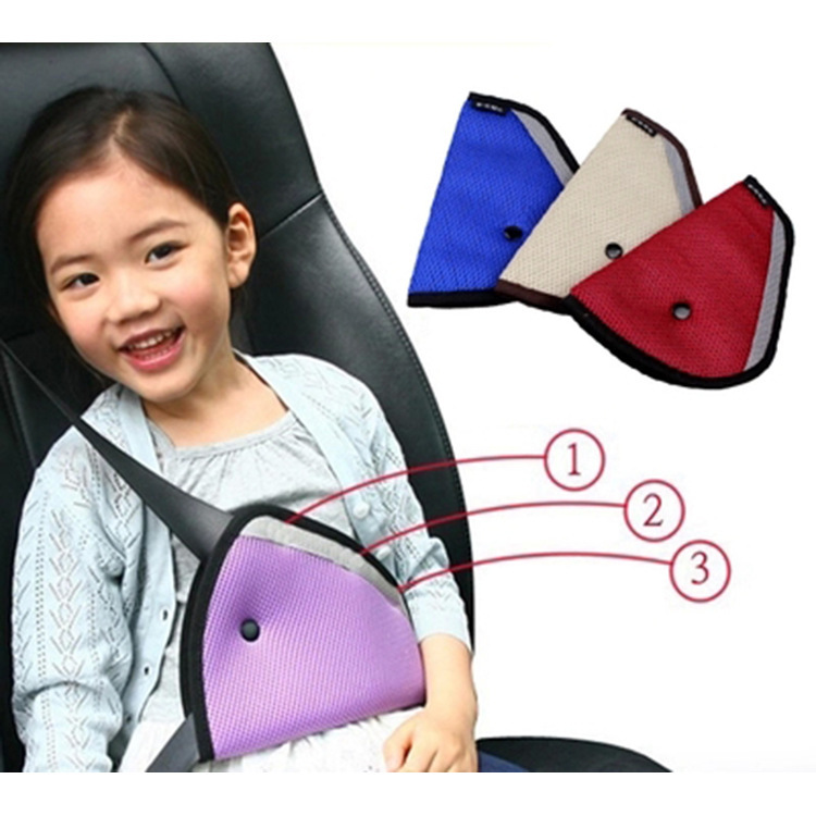 Car Safety Seat Belt Shoulder Padding Adjuster for Kids Baby Car Protection Safe Fit Soft Pad Mat Strap Cover Auto Accessories-in Seat Belts & Padding from Automobiles & Motorcycles