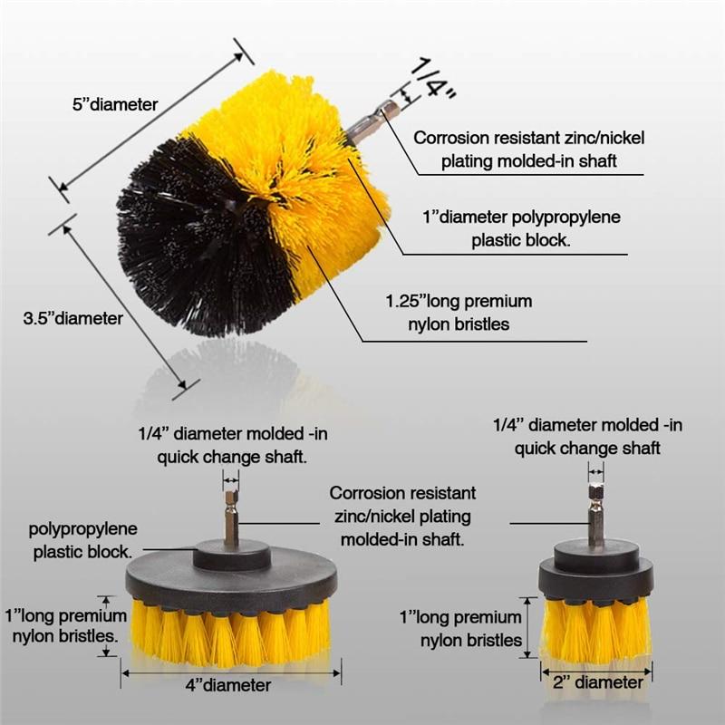 סט ערכת מברשות חשמליות EAFC 4
