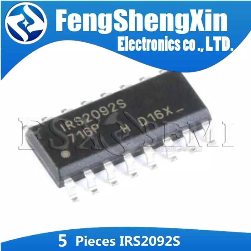 5Pcs IRS2092STRPBF IRS2092S SOP-16 IRS2092 Digital Power Amplifier Audio Amplifier Chip