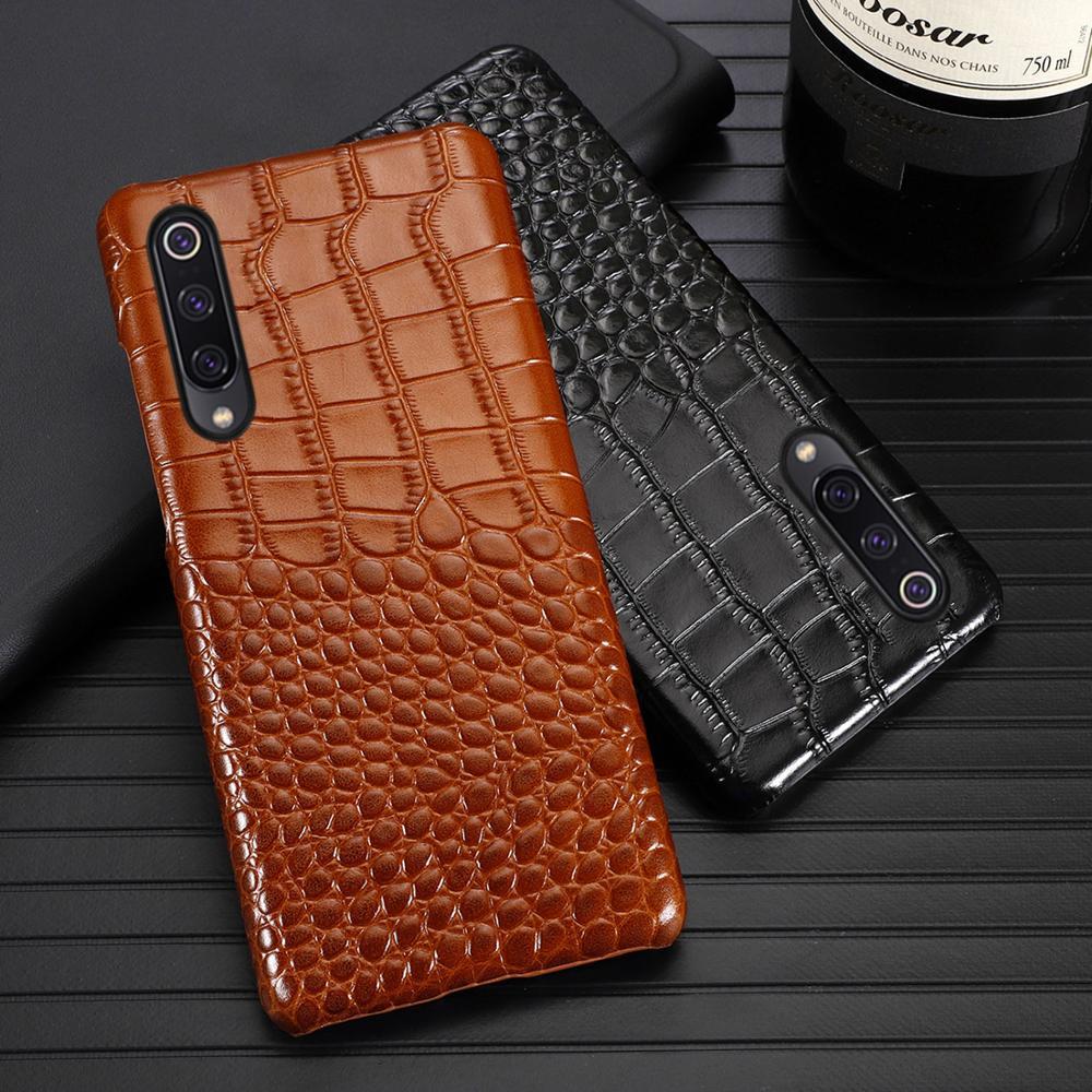 Phone Case For Xiaomi Redmi Note 7 8 5 6 Pro Case For Mi 8 9 lite se 9T A1 A2 A3 lite Poco F1 Y3 Max 2 3 Mix 2s 3 Cowhide cover