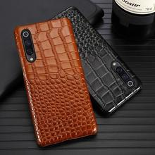 Phone Case For Xiaomi Redmi Note 7 8 5 6 Pro Case For Mi 8 9 lite se 9T A1 A2 A3 lite Poco F1 Y3 Max 2 3 Mix 2s 3 Cowhide cover