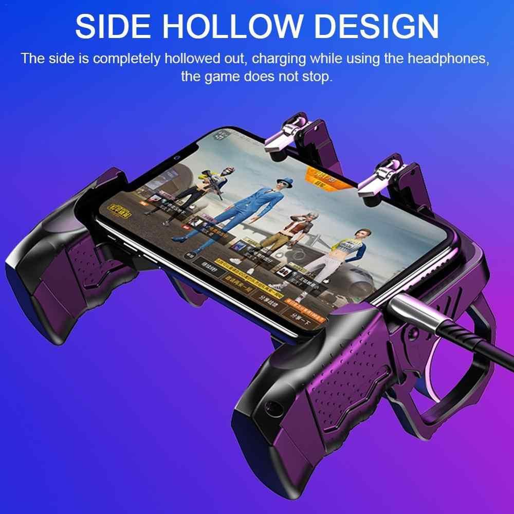 2020 Pubg denetleyici cep telefonu oyunu için eserler oyun kolu hızlı yangın ateş Joystick Gamepad Android IOS oyun yardımcısı