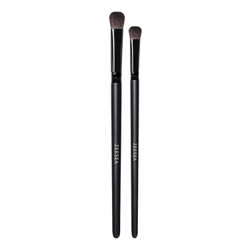 ZEESEA New 2pcs Professional Eyeshadow Brushes Blending Makeup Eye Shadow Cosmetic Tools pinceles de sombra de ojos