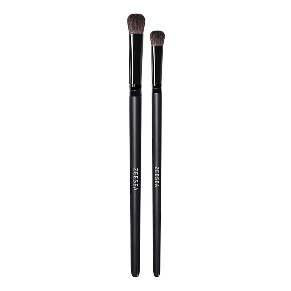 ZEESEA nuevo 2 uds sombra de ojos profesional pinceles mezcla maquillaje sombra de ojos herramientas cosméticas pinceles de sombra de ojos
