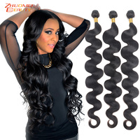 Body Wave Bundles 8 26 28 30Inch 32 34 36inch 38 40inch Bundles Peruvian Human Hair Bundles 3/4Bundles 100% Remy Hair Extension