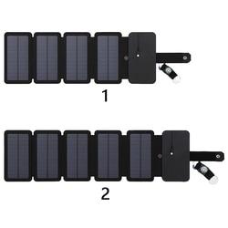 Pakiet zasilany energią słoneczną ładowarka urządzenie ładujące składane panele torba na telefon komórkowy przenośna