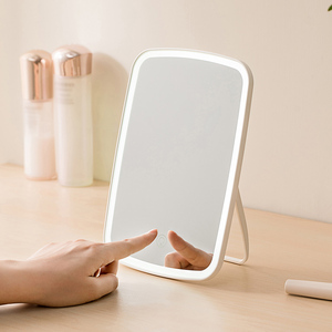 Image 4 - Xiaomi Mijia LED Makeup Mirror Light Touch Switch Control Natural Portable Make up Led Light Dormitory Desktop Mirror 1200mAh