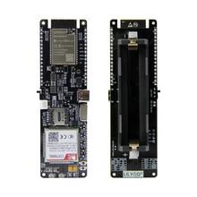 LILYGO®TTGO T SIM7000G Mô Đun ESP32 WROVER B Chip WiFi Bluetooth 18560 Pin Sạc Năng Lượng Mặt Trời Ban Phát Triển