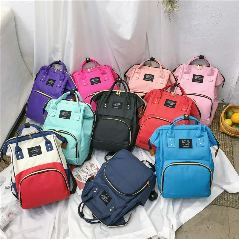 Hot Selling Mom Nursing Travel Bag Korean-style Fashion Multi-functional Large Capacity One-Shoulder Handbag MOTHER'S Bag
