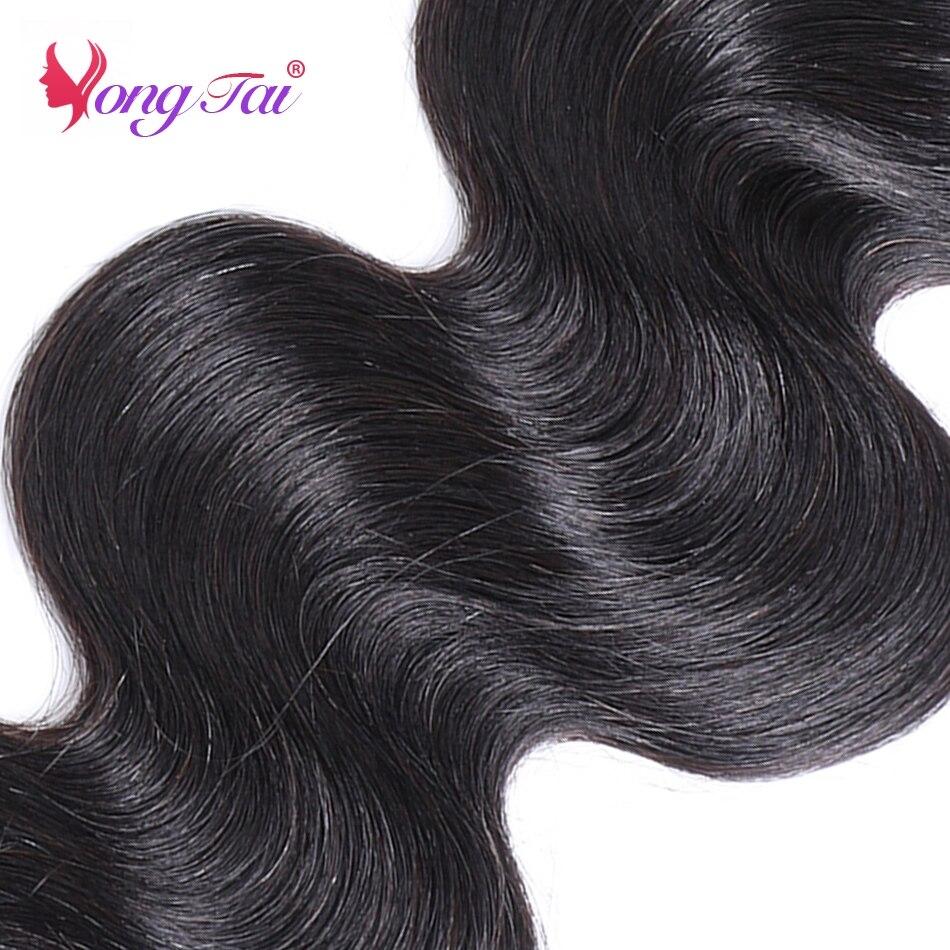 YuYongtai hair Brazilian Body Wave Remy Hair 1 Bundles sample 10\