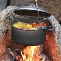 Keith Titanium Pot Stockpot Big Capacity Outdoor Camping Hiking Traving Hunting Picnic Cookware Ollas Cocina 2.5L Ti6018