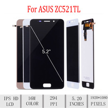 Original For ASUS Zenfone 3S Max ZC521TL X00GD LCD Display Touch Screen Digitizer Assembly For Asus ZC521TL Display with Frame все цены