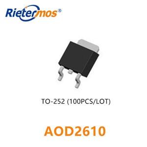 Image 1 - 50 piezas 100 piezas AOD2610 D2610 252 SMD