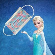 Disney Frozen Children's Face Maks 10pcs Disposable Protective Face Woven Filter Anti-Dust Protective elsa Mask for Boy Girl Toy