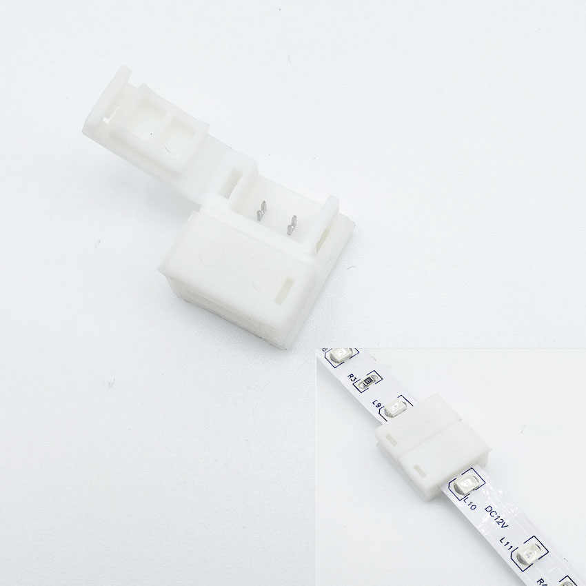 5050/3528 LED Strip Connectoren 8/10/12mm/2/4/5pin Gratis Lassen Connector Blote board Niet waterdicht/Dropping lijm waterdicht