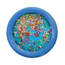 Learning-Toys Tambourine Ocean-Wave Musical Drum for Child Popular TSAI Bead Gift Attention