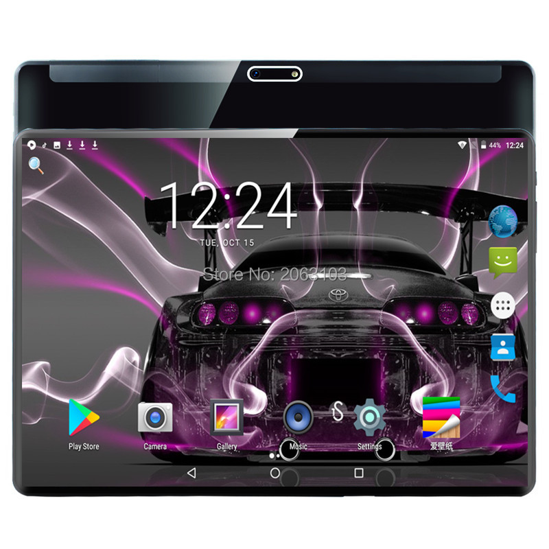 2020 New 10 Inch Tablet Pc Deca Core 6GB RAM 64ROM 1920*1200 IPS Dual Sim 4G Tablets Android 9.0Tablets 10 10.1+Gifts
