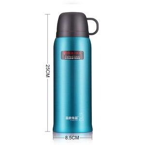 Image 5 - Pinkah Thermos 730ml z bezpłatna torba 304 kubek termiczny ze stali nierdzewnej kubek wody kubek próżniowy Outdoor Sports podróżny kubek do kawy