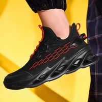 Plus 46 zapatos de Hombre Casual transpirable Scarpe Uomo marca de verano Hombre Zapatillas de deporte