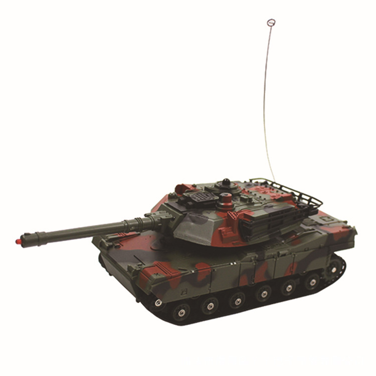 Vibration Into 333-tk11a Double Battle Tank Small Children Remote Control Toy