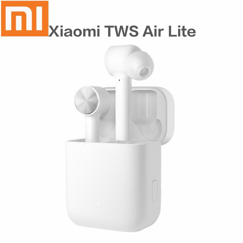 Original Xiaomi <font><b>TWS</b></font> Air Lite Earphone <font><b>Mi</b></font> Ture Wireless Bluetooth V5.0 Headset Stereo Earphones ENC Mic Handsfree image