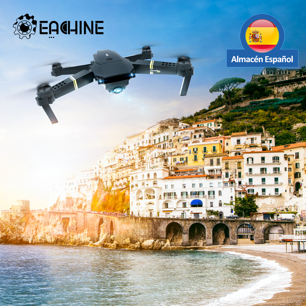 Eachine E58 WIFI FPV With Wide Angle HD 1080P Camera Hight Hold Mode Foldable Arm RC Quadcopter Drone RTF Dron Spanish warehouse|RC Helicopters| - AliExpress