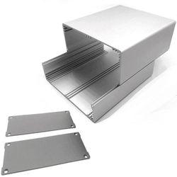 O corpo rachado durável expulsou o instrumento eletrônico do pwb do cerco de alumínio da caixa do projeto caso o escudo do metal diy