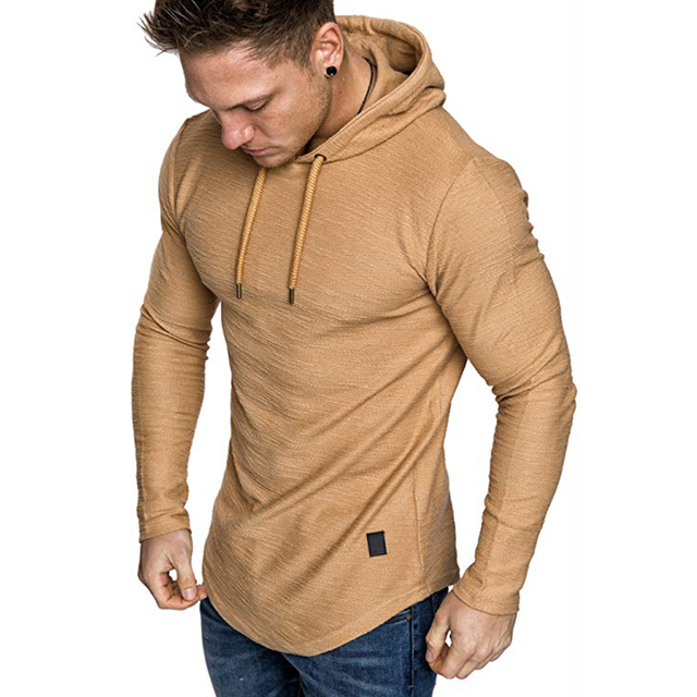 2021 New Men's Brand Pure Color Sweatshirt Fashion Men's Hoodie Spring Autumn Winter Casual Hoodie Men's Long Sleeve M-3XL 5
