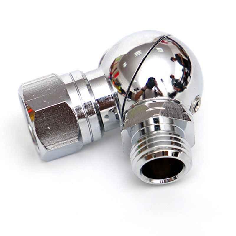 Stufe Tauchen Regulator Protable 110 Grad Swivel Schlauch Adapter für 2