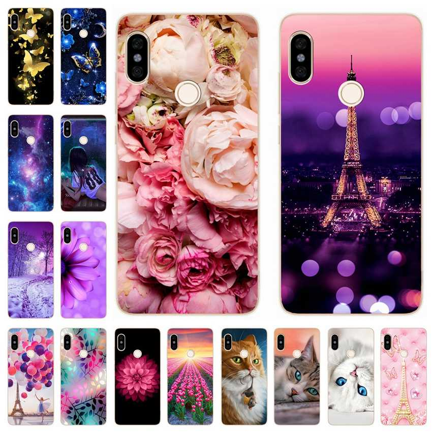 Soft Silicone Cases For Redmi Note 5 Case 5.99' Printed Cute Cover Phone Case for Xiaomi Xiomi Redmi note 5 note5 pro Back Cover
