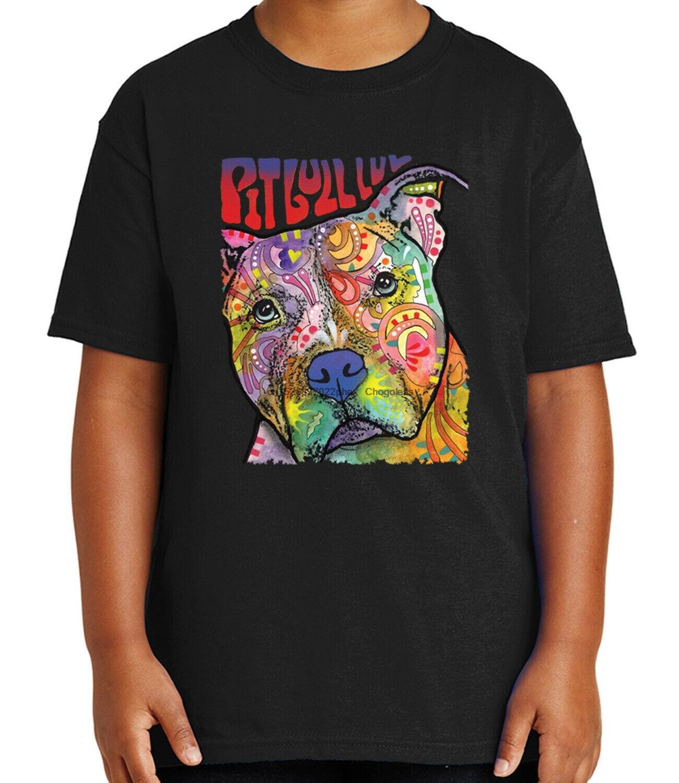 Питбуль лув, детские футболки с рисунками из мультфильмов защитный чехол для телефона любовь футболка для молодежи-1575C